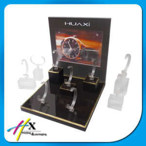 Black Classical Design Luxury Acrylic Watch Display pictures & photos