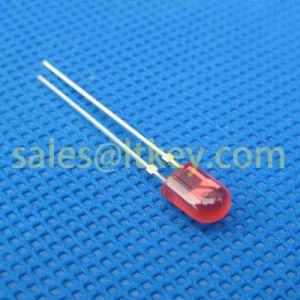 5mm Oval Red LED Lamp pictures & photos