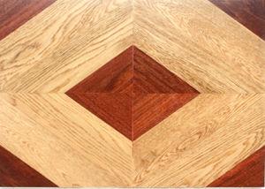 Hand-Scraped Hardwood Parquet / Oak, Balsamo Wood Flooring pictures & photos