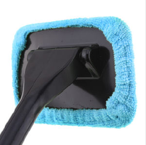 Microfiber Auto Window Car Cleaning Long Handle Car Wash Brush Dust Car Care Windshield Shine Towel Handy Washable Car Cleaner pictures & photos