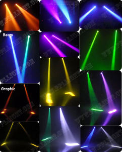 Sniper LED 20W Adj Laser Simulater DMX Scanning Light pictures & photos
