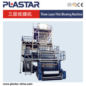 Top New High Quality Three Layer Co-Extrusion HDPE/LDPE Film Blowing Machine pictures & photos