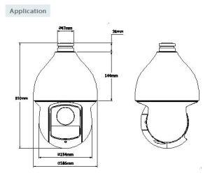 2 Megapixel 1080P 12X Ultra-High Speed IR Hdcvi PTZ Dome Camera{SD59212I-Hc} pictures & photos