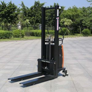 Hot Selling 1.0ton Electric Reach Stacker Price (CDSD10) with CE pictures & photos