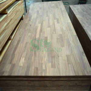 American Walnut Finger Jointed Laminated Board pictures & photos