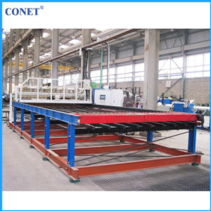 Conet Brand Full-Automatic Reinforcing Wire Mesh Panel Welding Machine (HWJ3000 with line wire and cross wire 5-12mm) pictures & photos