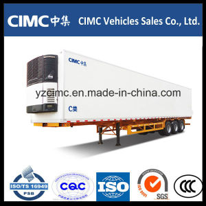 Cimc 40feet 30t Freezer Semi Trailer Refrigerated Truck Body pictures & photos