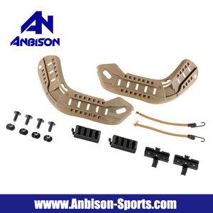 Anbison-Sports Airsoft Arc Mich Helmet Rail Guide Suit pictures & photos