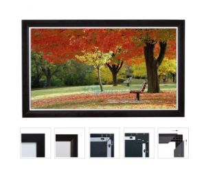 High Quality Flat Fixed Frame Screen with 10 Cm Frame pictures & photos