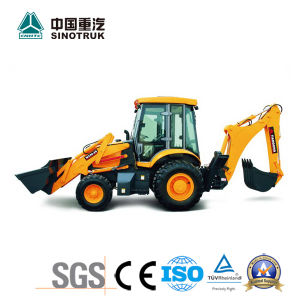 Hot Sale Cheap Price Backhoe Loader of 4X4 pictures & photos