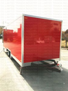 Stainless Steel Street Western Cooking Food Vending Trailer with Towbar pictures & photos