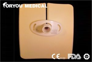 CE FDA Luofucon Aposito De Espuma Tracheostomy Stoma Foam Dressing pictures & photos