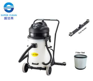 with Squeegee Plastic Tank 60L Dry Vacuum Cleaner pictures & photos