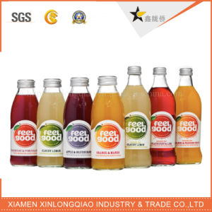 Fruit Juice Plastic Printed Transparent Beverage Bottle Label Printing Sticker pictures & photos