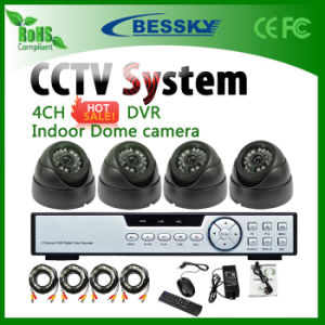 4 Channel Indoor Camera DVR Kits for Home Safety (BE-9604H4IB)