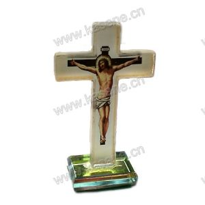 Beautiful Crystal Cross Religious Decorations pictures & photos