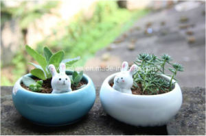 Jingdezhen Creative Shape Ceramic Flowerpot (QW-11111) pictures & photos