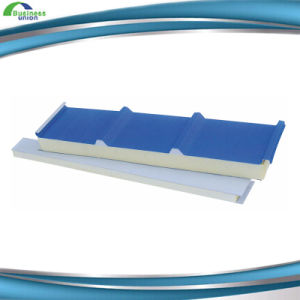 Heat Insulated PU Foam Sandwich Panel