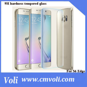 Hot Sale Phone Accessories Tempered Glass Screen Protector for Samsung Galaxry S6 Edge pictures & photos