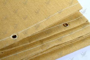 Glass Fiber Fabric Heat Treated Golden Colour pictures & photos