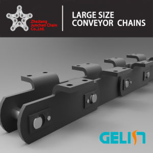 Lbw14 OEM Manufacturing Large Size Cranked Link Chain Nonstandard Conveyor Chain pictures & photos