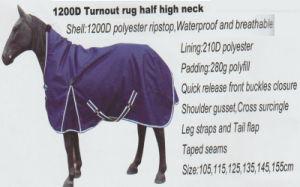 Horse Gear 1200d Turnout Rug Haif High Neck