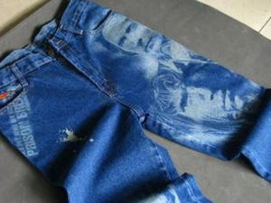 Jeans/Fabric Galvo Laser Marking/Cutting Machine pictures & photos