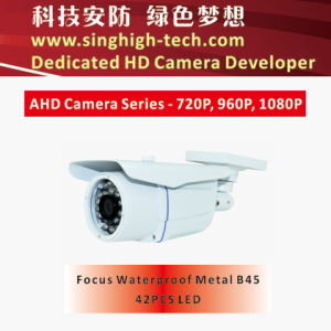 Ahd 1080P 2MP Sony Imx322 CMOS Waterproof Metal Housing Varifocal Ahd Camera (NS-3345V)