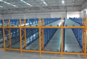 High Load Capacity Storage Gravity Racking pictures & photos