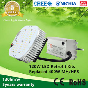 ETL Listed 120W LED Retrofit Kits for Street, industrial Light Replace 400W Metal Halide/HPS pictures & photos