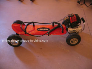 49cc G-Wheel / Wheelman / Gasoline Skateboard/2 Wheel 49cc Gas Scooter (et-GSK01) pictures & photos