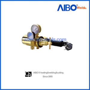 2 Gauges Brass Body CO2 Regulator with Heater (2W16-1030) pictures & photos