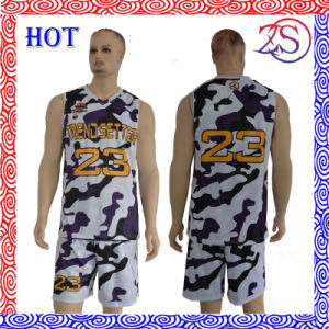 Customize New Design Sublimation Basketball Uniform Shirt pictures & photos