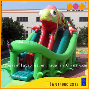 Lizard Theme Inflatable High Slide for Kids (AQ1150) pictures & photos