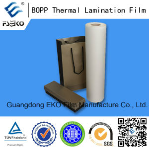 BOPP Pre-Glued Lamination Film Manufacturer pictures & photos