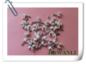 Nylon Nail Hook Round Wall Cable Clip pictures & photos