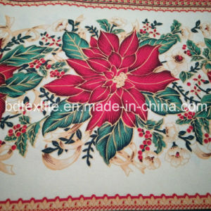 Christmas Printed Mini Matt, Printed Table Cloth 100%Polyester Mini Matt Printed Fabric pictures & photos