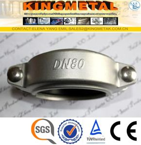 304 4/6inch Stainless Steel Grooved Clamp Pipe Fittings pictures & photos