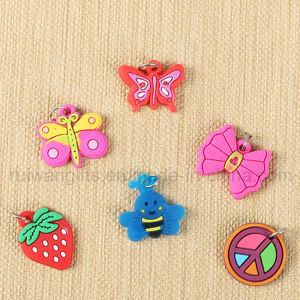 Wholesale PVC Kids Wristband Charms for Kids DIY Wristband pictures & photos