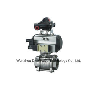 Ts Pneumatic 3PC Ball Valve pictures & photos