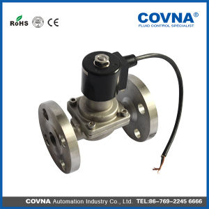 Flange Stainless Steel Solenoid Valve pictures & photos