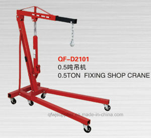 0.5ton Fixing Engine Crane with Ce Approval pictures & photos
