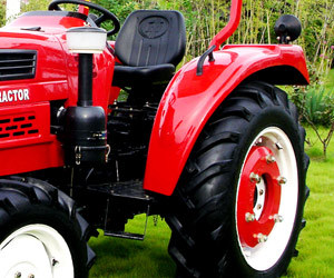Jinma 4WD 55HP Wheel Farm Tractor (JINMA 554) pictures & photos