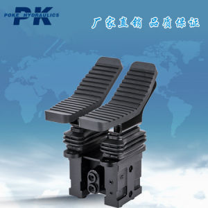 Hydraulic Control Valve Short Double Foot Pedal pictures & photos