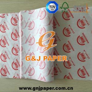 Good Quality Printed Greaseproof Paper for Food Wrapping pictures & photos