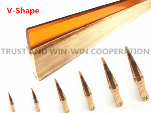 V-Shape Squeegee with Wooden Handle Series pictures & photos