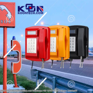Koontech Waterproof Industrial Sos Telephone Call Box Knsp-18 pictures & photos