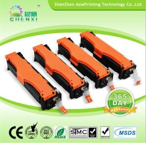 Laser Printer Toner Cartridges CE410A CE411A CE412A CE413A Compatible Color Toner for HP pictures & photos