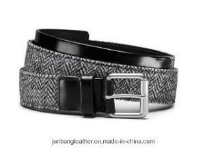 Unisex Fashion Sports Leisure Elastic Polyester Webbing Belt, Braided Elastic Stretch Belt pictures & photos