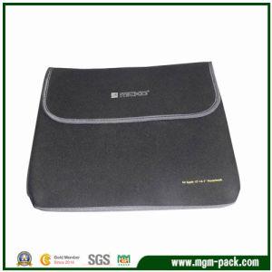 Horizontal Neoprene Laptop Sleeve with Hook & Loop Closure pictures & photos